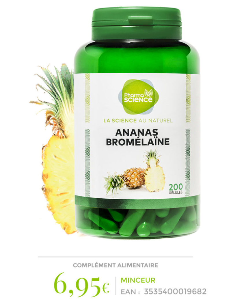 Ananas Bromélaïne Pharmascience