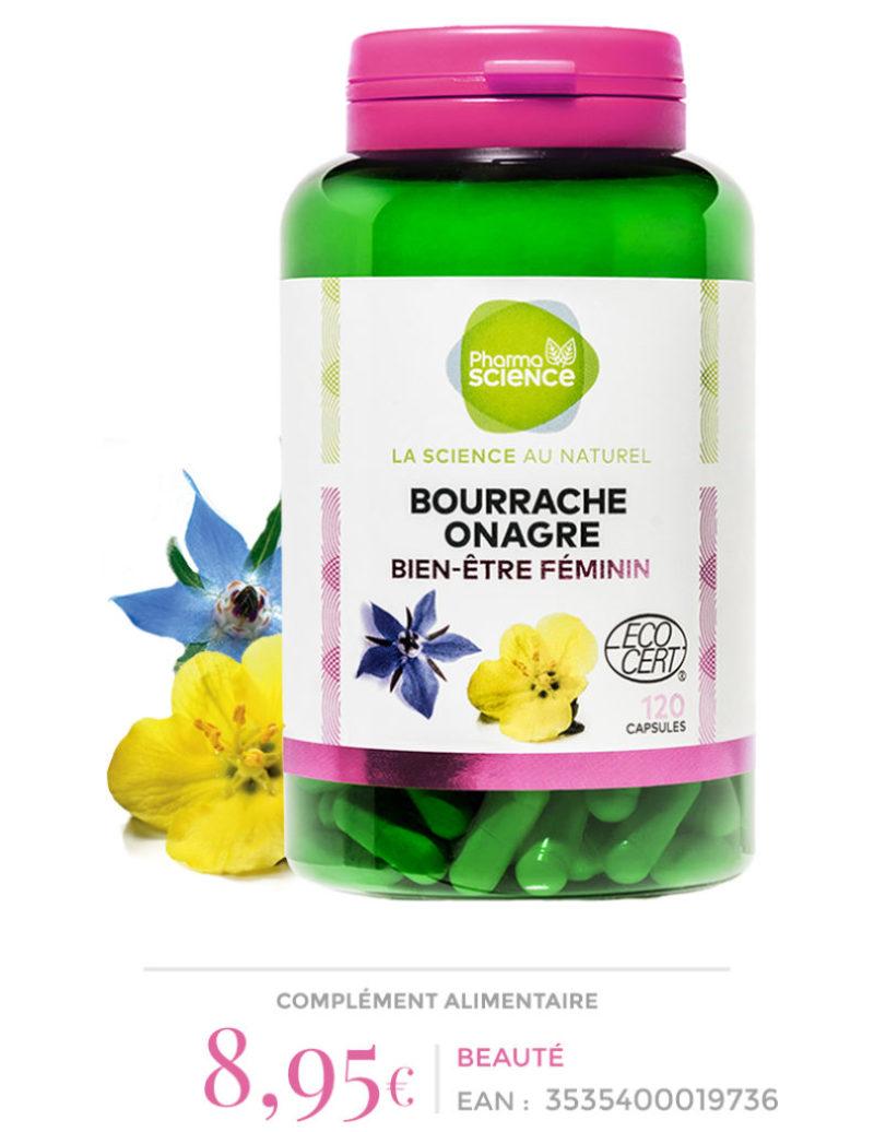 BOURRACHE ONAGRE Pharmascience