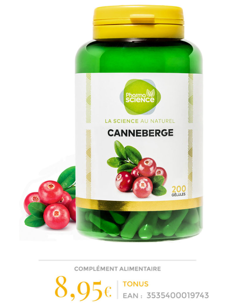 CANNEBERGE-Pharmascience