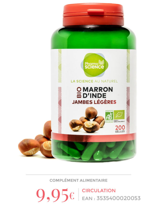 MARRON d'INDE Pharmascience
