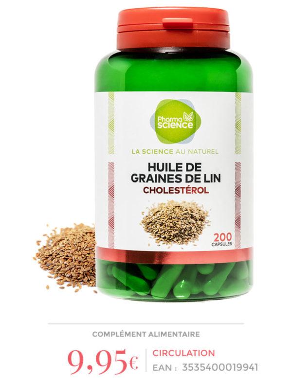Huile de graines de Lin-Pharmascience