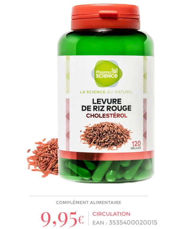 levure de riz rouge pharmascience