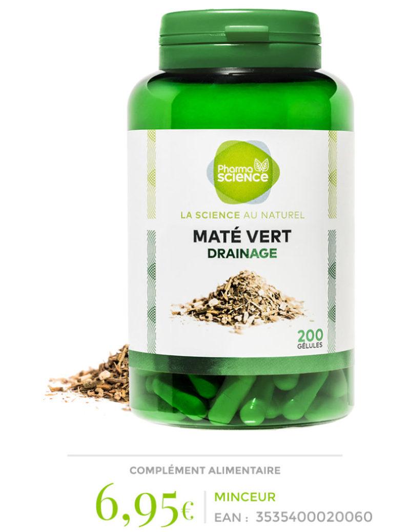 maté vert pharmascience