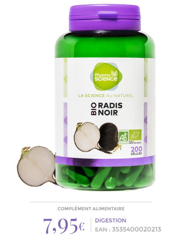 Radis noir Pharmascience