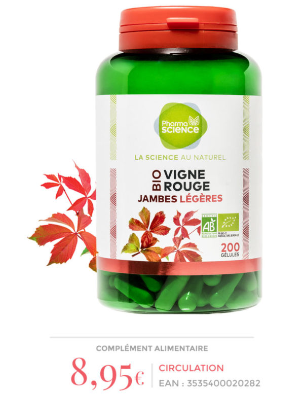 vigne rouge Pharmascience