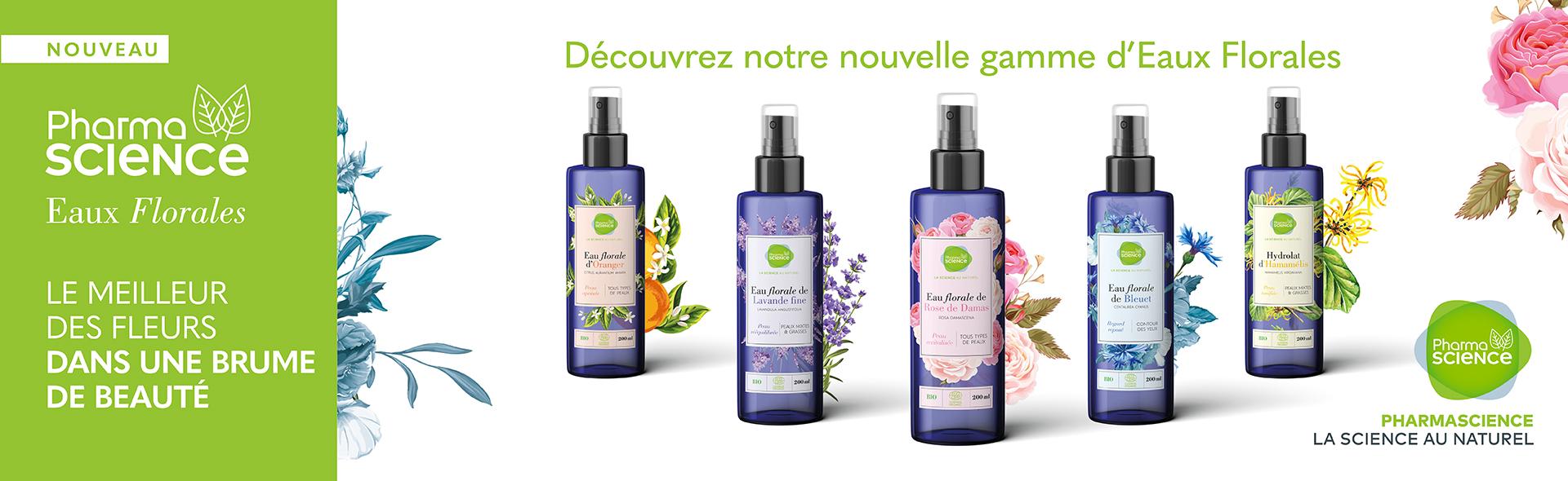 Découvrez notre nouvelle gamme d'Eaux Florales